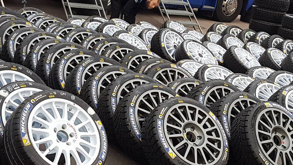 ca74b4d02edd Rally tyres must offer the best grip possible at high speeds in any  conditions and any surface. So how do they achieve that