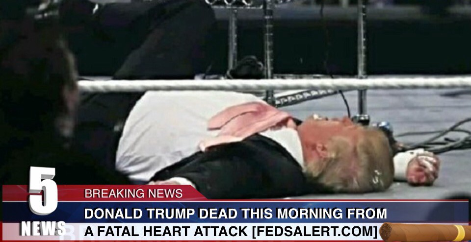 The Death Of Donald Trump Extra Newsfeed