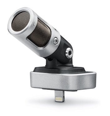 iphone microphone wireless the shure mv88 is my top pick for an external iphone mic build quality extremely solid and made of all metal it has both stereo directional best external lightning microphones for ios