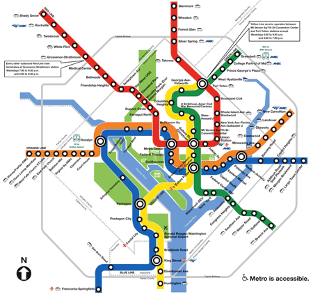 Dc Metro Map Redesign Fortes And Flaws M Jackson Wilkinson