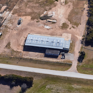 The site of Tate & Company in Waco, Texas. Image courtesy Google Maps.