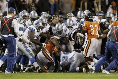 Nfl Week 11 When Players Fight Nyu Local