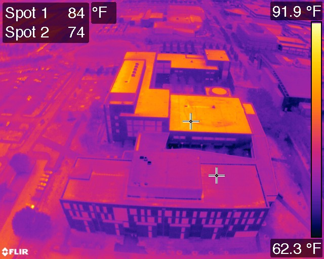 Drone Generated Thermal Maps Are A Game Changer For Roof
