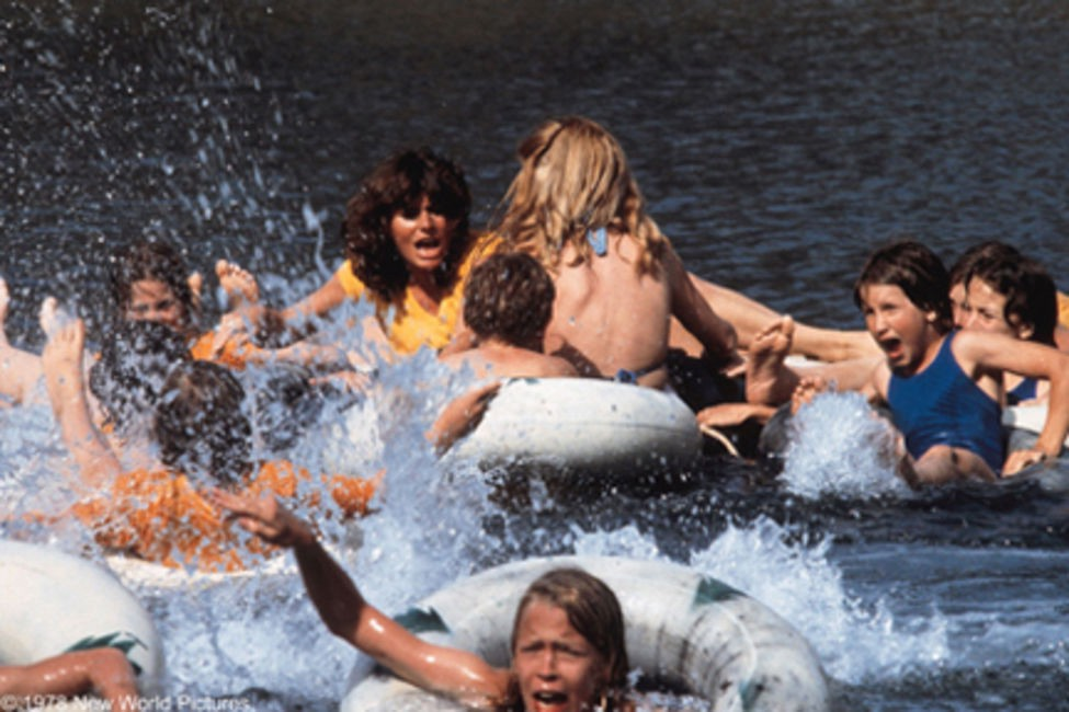 Movie Review Piranha 1978 As Vast As Space And As Timeless As