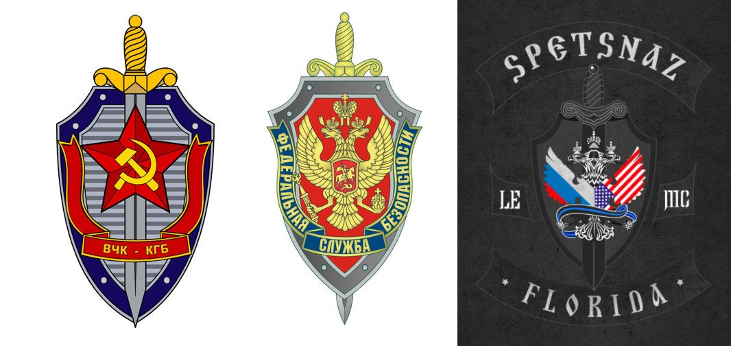 Official Spetsnaz Logo BIKERS FOR THUG...