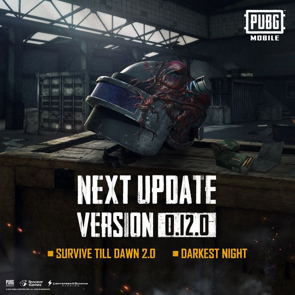 PUBG Mobile New Update v 0.12 Beta is out with New Zombies, Rocket Launcher and Much More 1