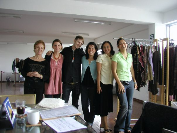 exhausted but happy a designer factory owner production manager and production team in peru - Fashion Production Manager