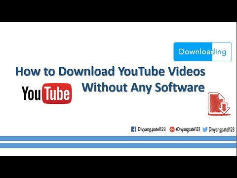 Video how to download youtube videos without any software hindi in this video i will show you how to download youtube videos without any software hindi 1 go to youtube open the page of the video you want to ccuart Choice Image