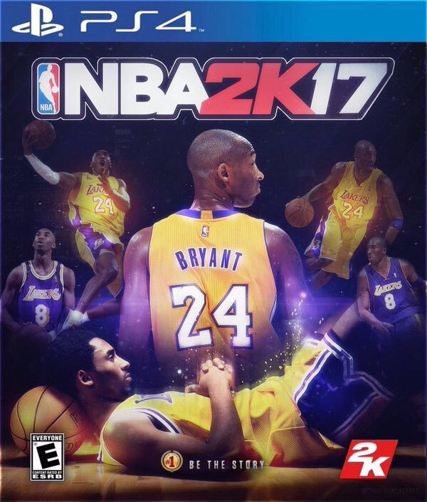 online store 7d604 15a04 NBA 2K17 Cover  Toss Up Between Kobe Bryant   Stephen Curry