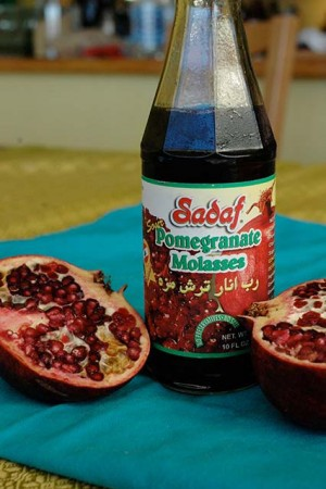 how to make sour pomegranate sweet