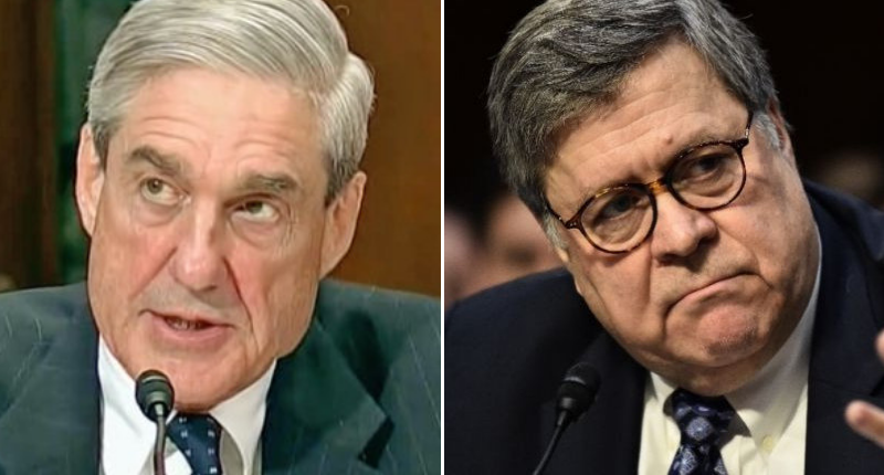 HOUSE CHAIRS DEMAND AG BARR CANCEL PRESS CONFERENCE ON MUELLER REPORT