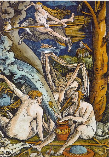 'Witches,' by Hans Baldung (Credit: Wikimedia Commons)