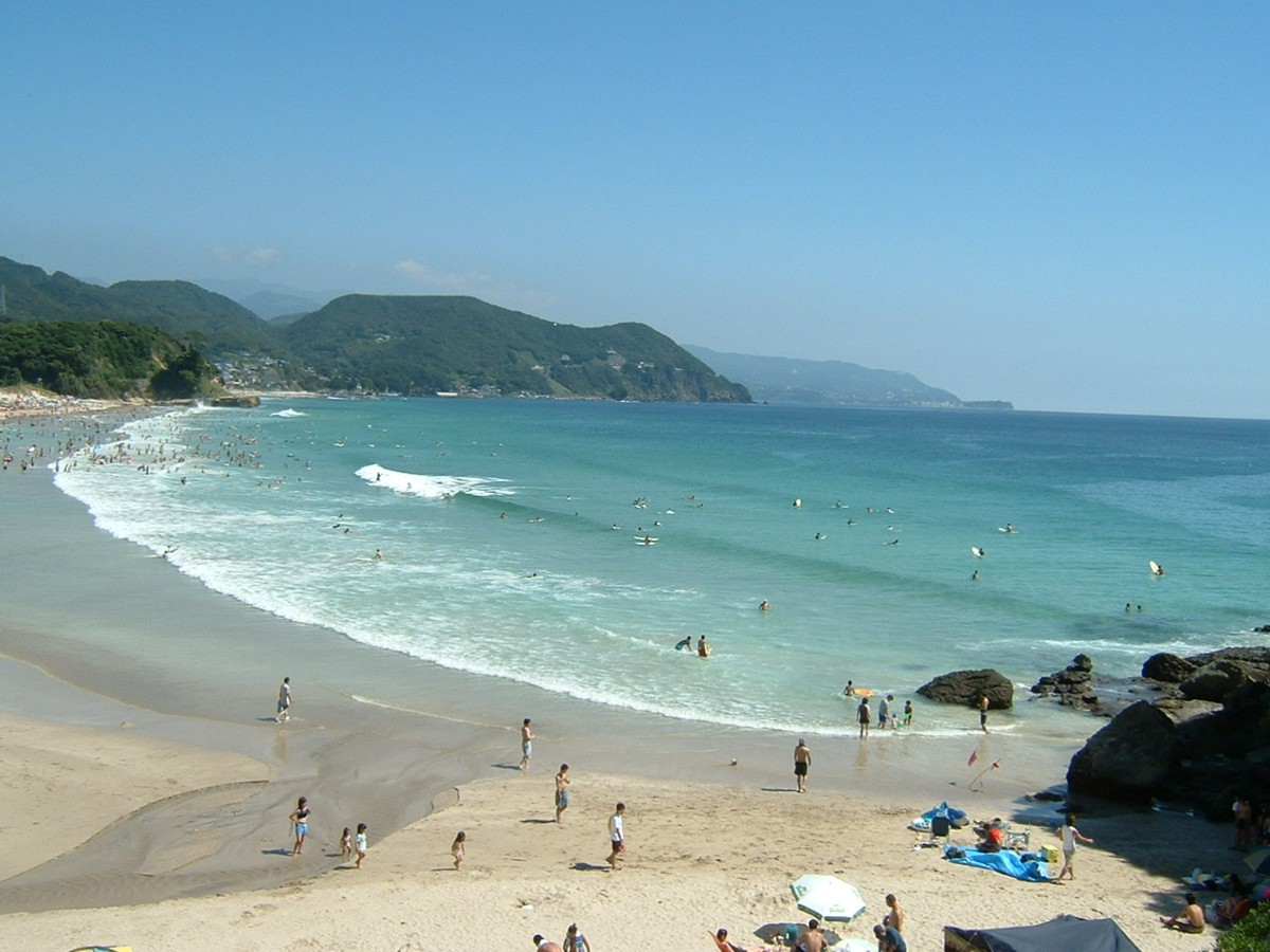 Shirahama Beach 白浜海岸