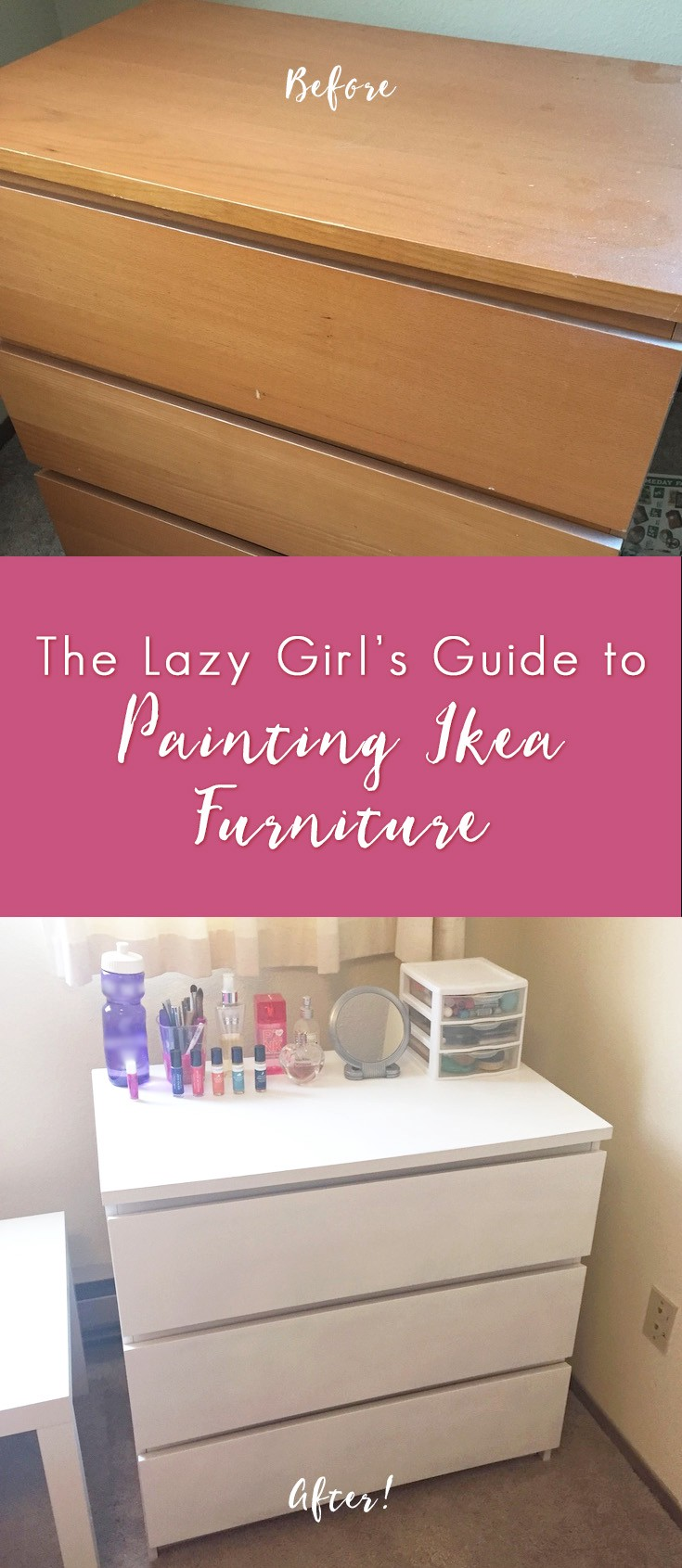 The Lazy S Guide To Painting Ikea Furniture