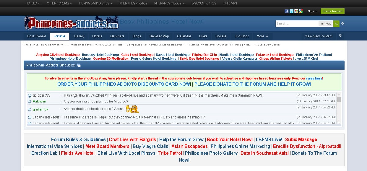 Philippines dating forum