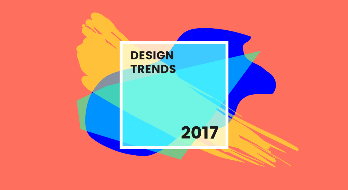 8 new graphic design trends that will shine in 2017 for New trends in design