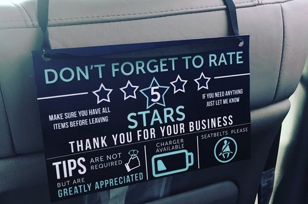 do uber drivers see what you rate them