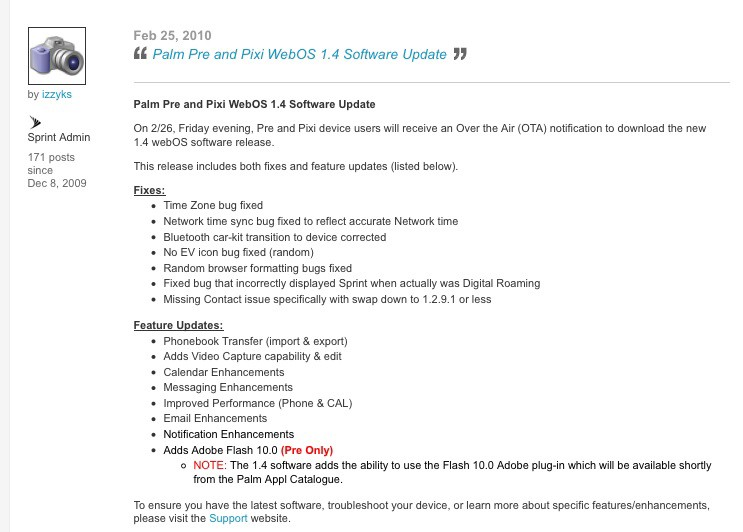 Palm pre browser matches up well with iphone safari   pcworld.