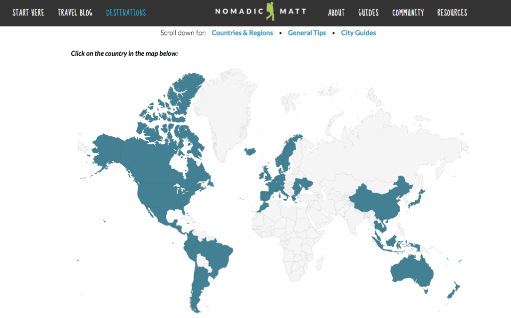 Mapping your world: Inspiration for interactive maps