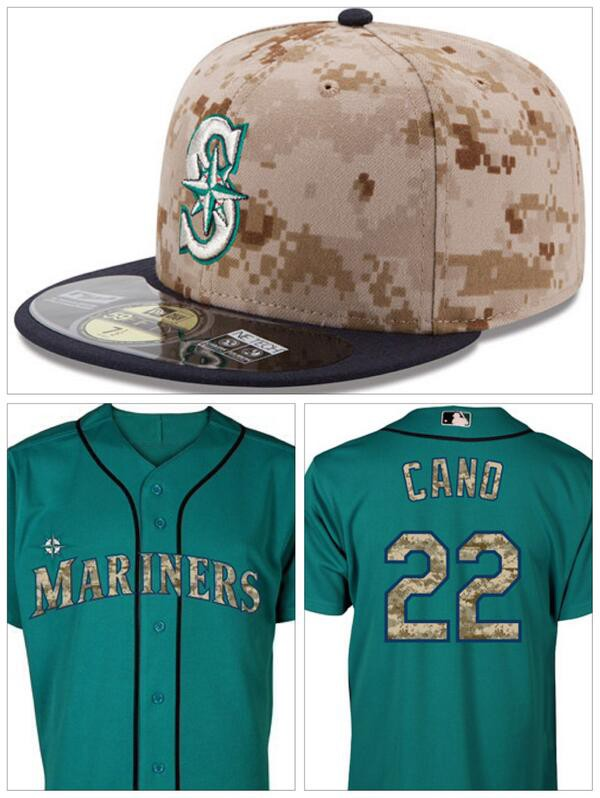 9821d1155 Special edition Mariners Desert Digital Camo gear the Mariners will be  wearing on Memorial Day