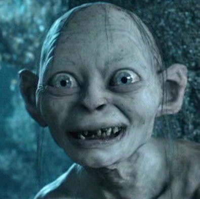 great character gollum the lord of the rings trilogy