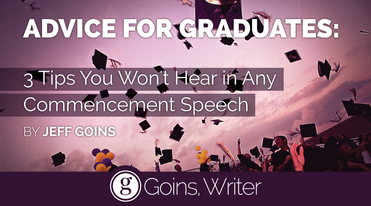 the speech the graduates didn't hear
