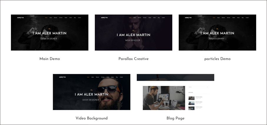 Martinis A Simple Creative And Responsive Html Template For Showcasing Your Portfolio Personal Information It Was Made By All Modern Technologies Like