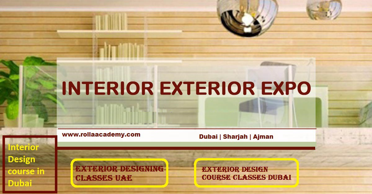 Rolla academy provides Interior Design course in Dubai Exterior