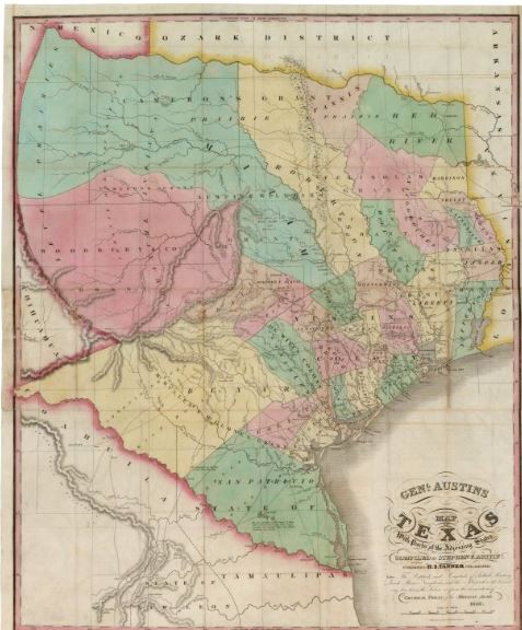 Mapping Texas From Frontier to the Lone Star State The Maps of