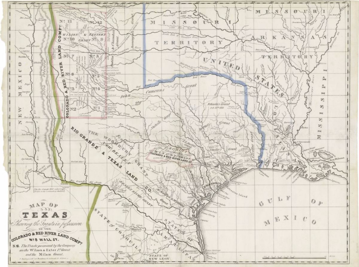 Mapping Texas From Frontier to the Lone Star StateMap of Texas