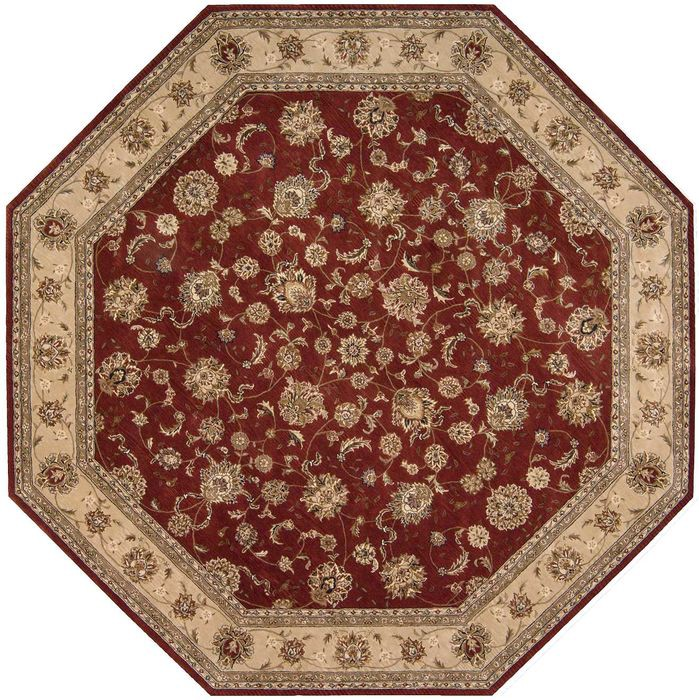 All Our Hand Knotted Octagon U0026 Serapi Rugs With Discount