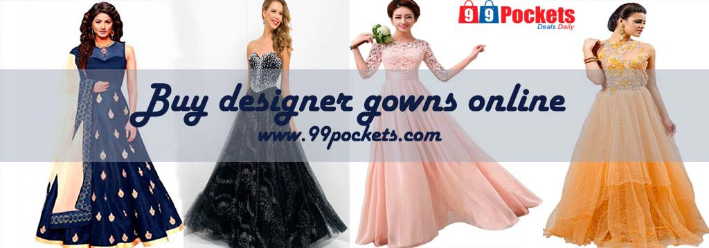 Buy designer gowns online – Universal Apparels – Medium