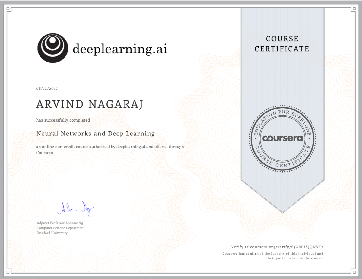 Thoughts after taking the Deeplearning.ai courses – Towards Data Science