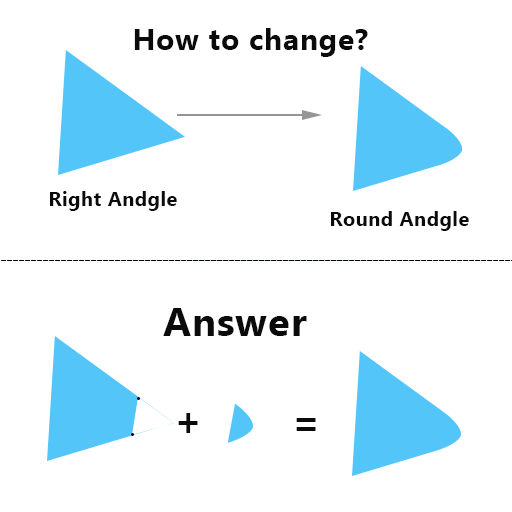 Canvas tutorial 02   How to draw round angle polygon in the flutter