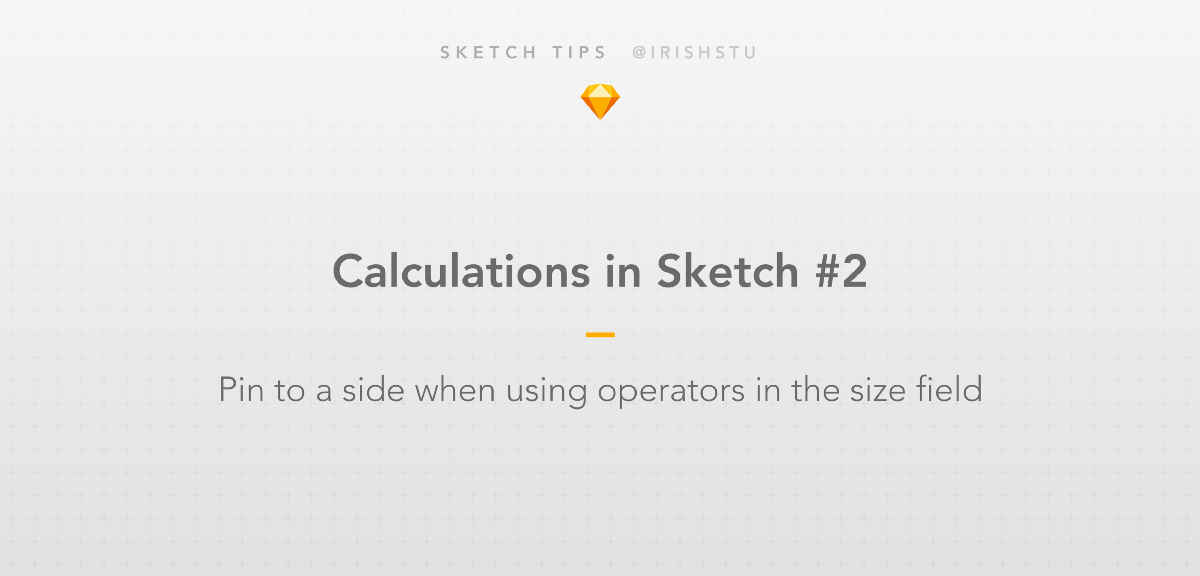 Calculations in Sketch: Pinning with Operators