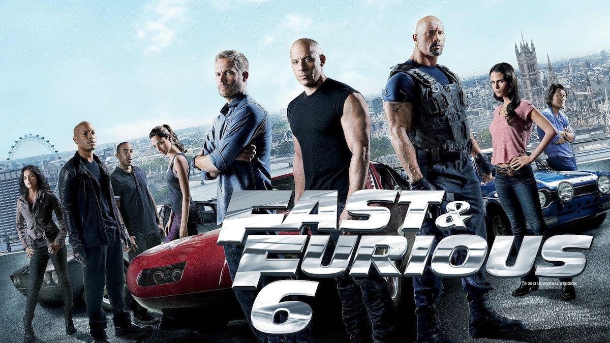 The Fast An The Furious 6