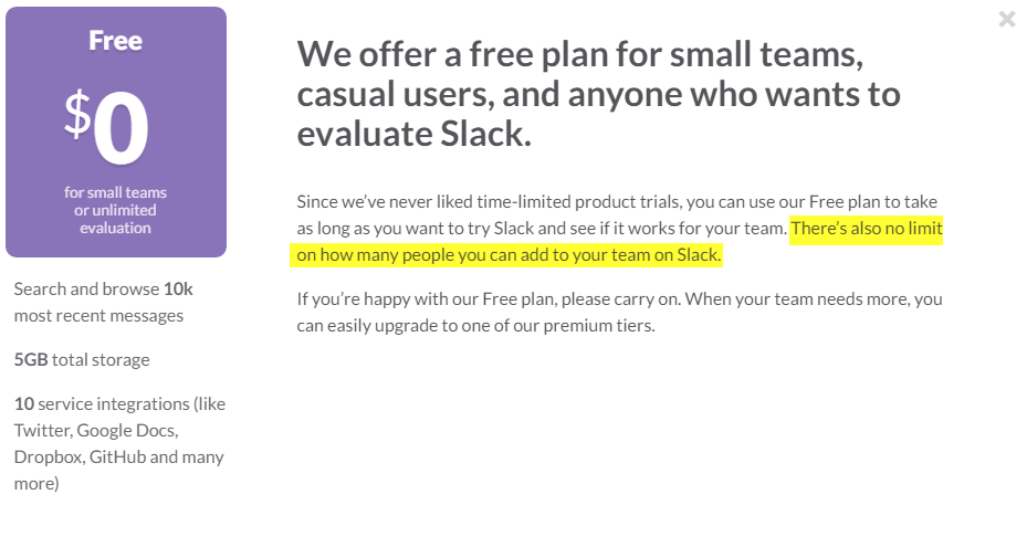 When A Slack Team Hits This Limit Invites Are Disabled Permanently Has Bitten At Least Two Large Communities In The Past