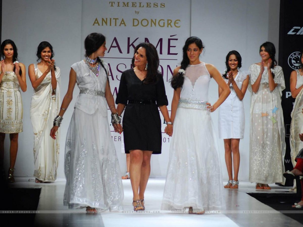 5733432de4 Celebrated fashion designer Anita Dongre has geared up for the upcoming  Lakmé Fashion Week (LFW) Summer/Resort 2018 with her 'Songs of Summer'  bridal ...