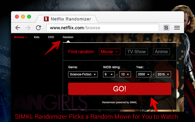 how to get to chrome movies
