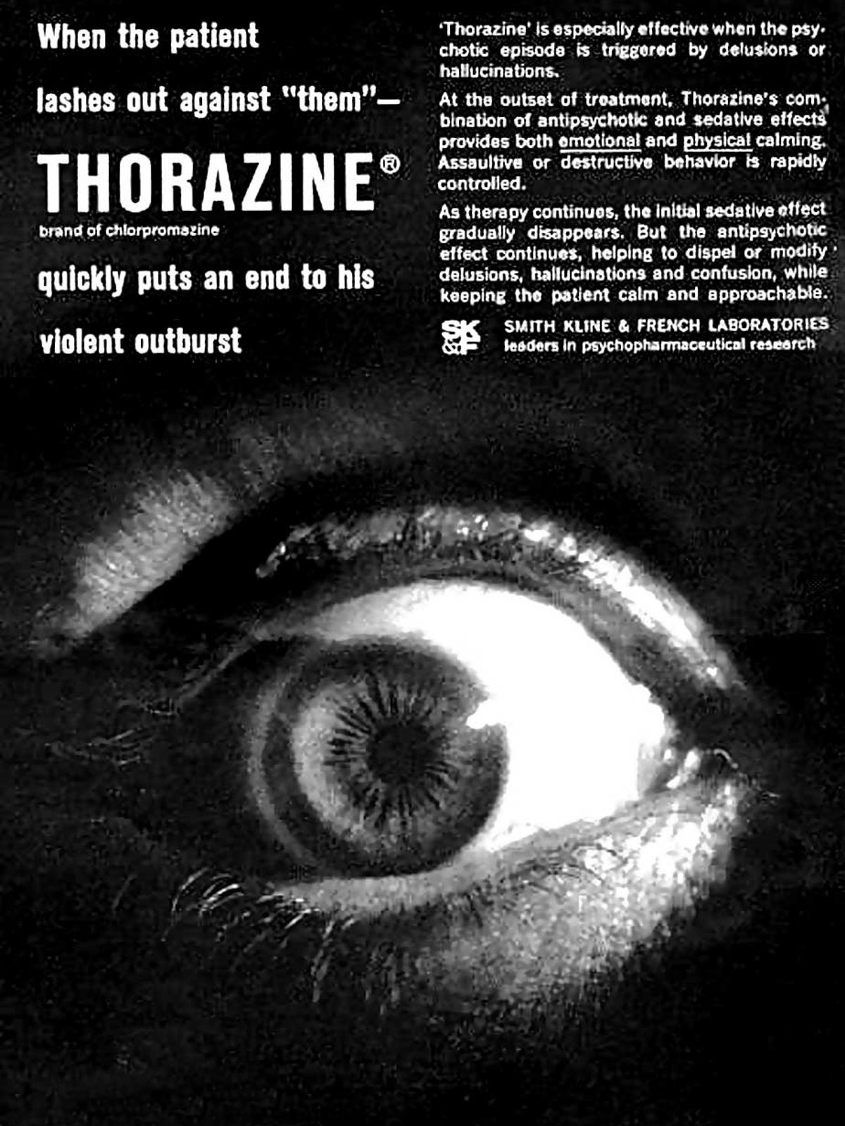 11,000 doses of anti-psychotic drug Thorazine—used by the CIA's MK-ULTRA program, were found at Jonestown