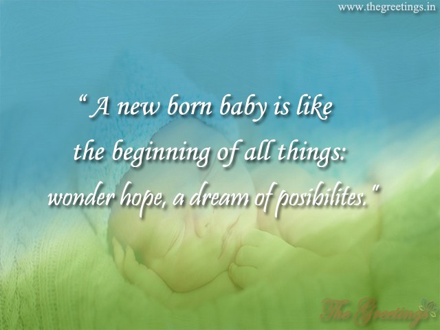Find Latest New Born Baby Quotes Status And Whatsapp Wishes