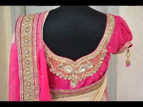 How To Get Embroidery Job Works On Saree Blouse In Chennai