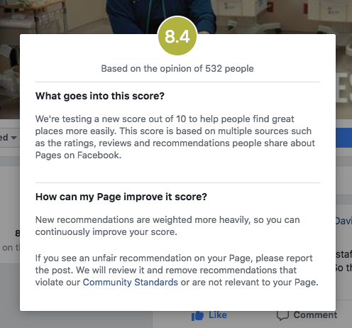 Facebook Reviews… now a 1–10 Scale? – Reed Smith – Medium
