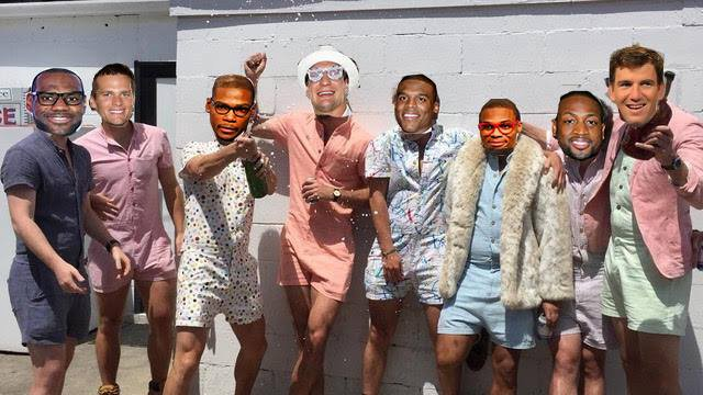 e1c416454b12 Which Male Athlete Is Most Likely To Wear A Romper This Summer