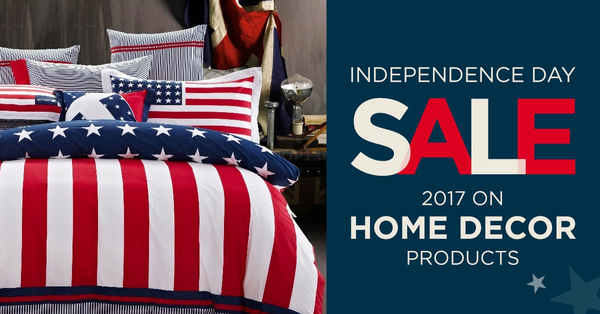 Independence Day Fourth Of July Sale 2017 For Home Decor