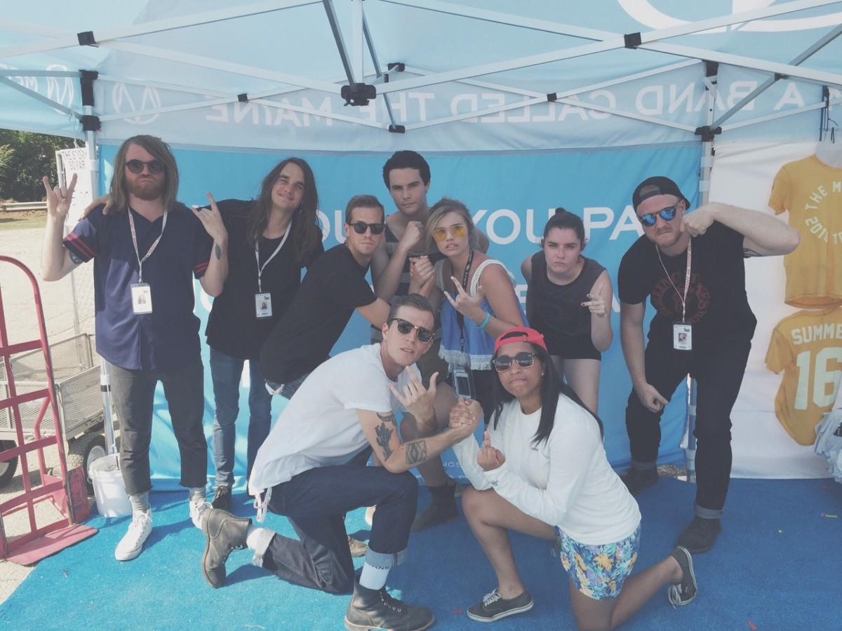 Why would you pay money to meet a human being the maine medium 2016 vans warped tour free meet and greet m4hsunfo