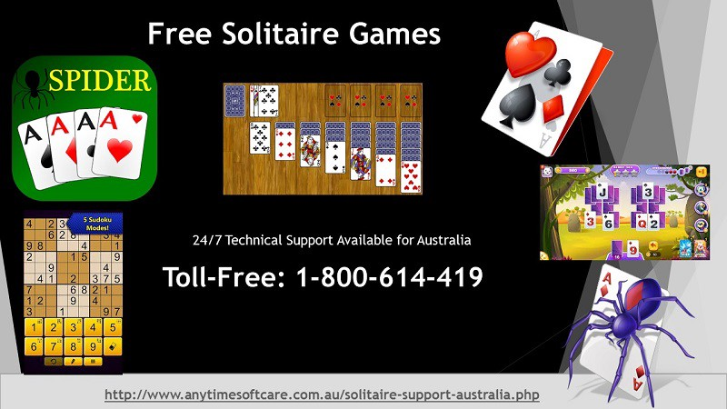 Use Toll-Free 1–800–614–419 | 247 Service To Play Free Solitaire Games