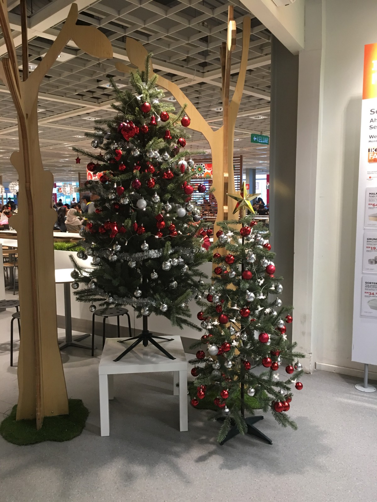 malaysia christmas decorations review 2016 ikea mutiara damansara - Christmas Decorations 2016