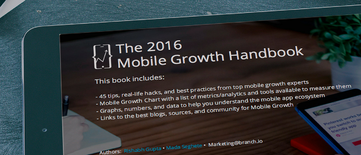 The 2016 Mobile Growth E Book From Silicon Valley Mobile Growth