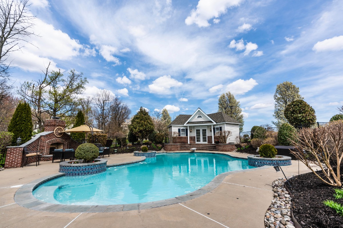 Swimming pool attach home   O'Dell Contracting Inc.   Wexford PA 15090